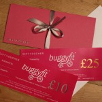 Exciting news from buggyfit HQ…we now have lovely gift vouchers available!