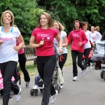 The benefits of walking and running with a buggy